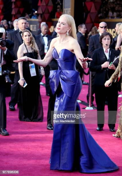 Actor Nicole Kidman attends the 90th Annual Academy Awards at Hollywood Highland Center on March 4 2018 in Hollywood California