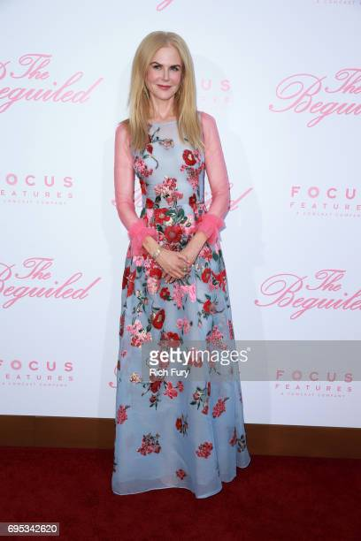 Actor Nicole Kidman attends the premiere of Focus Features' 'The Beguiled' at the Directors Guild of America on June 12 2017 in Los Angeles California