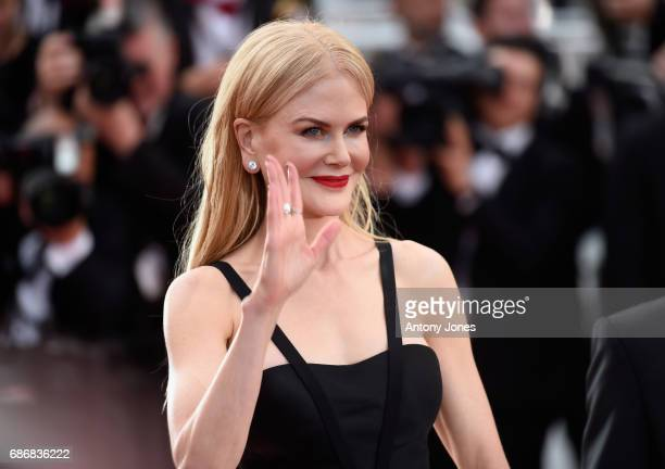 Actor Nicole Kidman attends the 'The Killing Of A Sacred Deer' screening during the 70th annual Cannes Film Festival at Palais des Festivals on May...