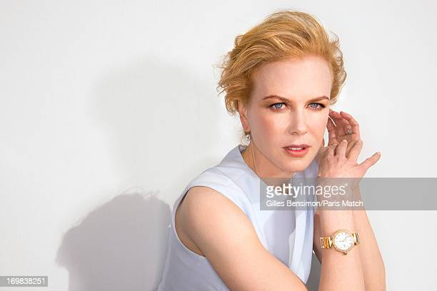 Actor Nicole Kidman is photographed for Paris Match on May 25 2013 in Cannes France