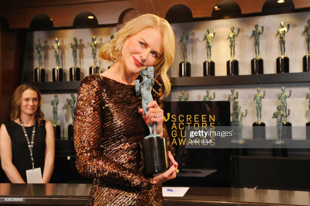 24th Annual Screen Actors Guild Awards - Trophy Room