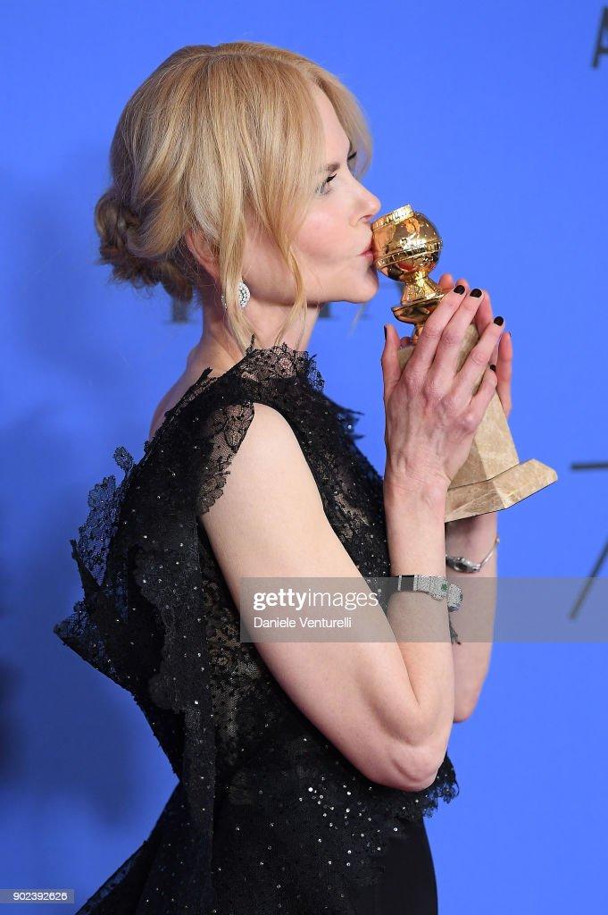 75th Annual Golden Globe Awards - Press Room : Foto di attualità