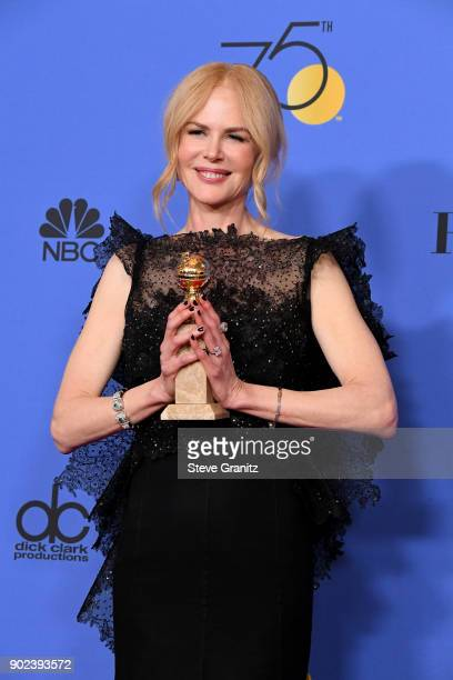 Actor Nicole Kidman winner of the award for Best Performance by an Actress in a Limited Series or a Motion Picture Made for Television for 'Big...