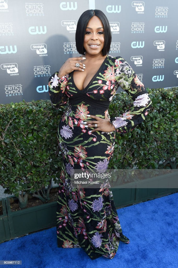 Actor Niecy Nash attends Moet & Chandon celebrate The 23rd Annual Critics' Choice Awards at Barker Hangar on January 11, 2018 in Santa Monica, California.