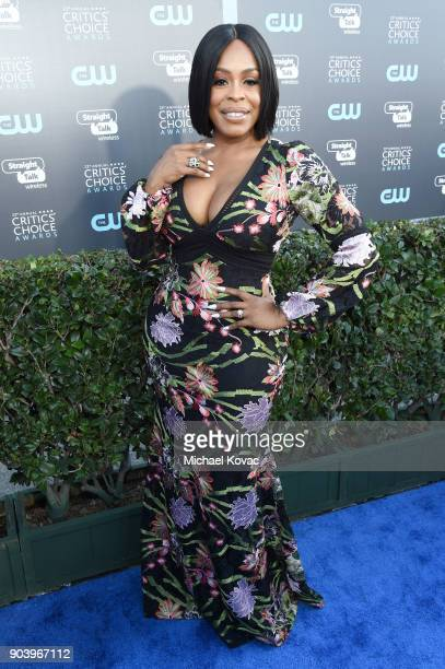Actor Niecy Nash attends Moet Chandon celebrate The 23rd Annual Critics' Choice Awards at Barker Hangar on January 11 2018 in Santa Monica California