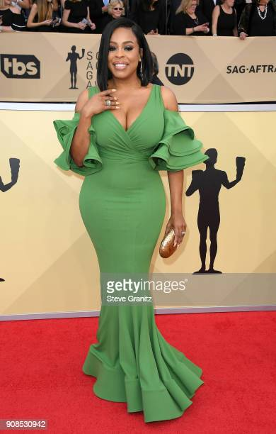 Actor Niecy Nash attends the 24th Annual Screen Actors Guild Awards at The Shrine Auditorium on January 21 2018 in Los Angeles California