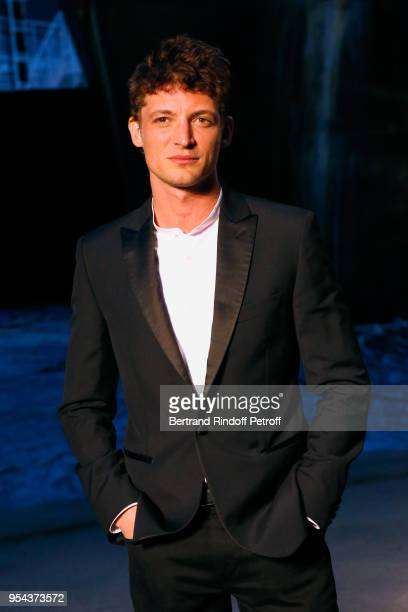Actor Niels Schneider attends the Chanel Cruise 2018/2019 Collection Photocall at Le Grand Palais on May 3 2018 in Paris France