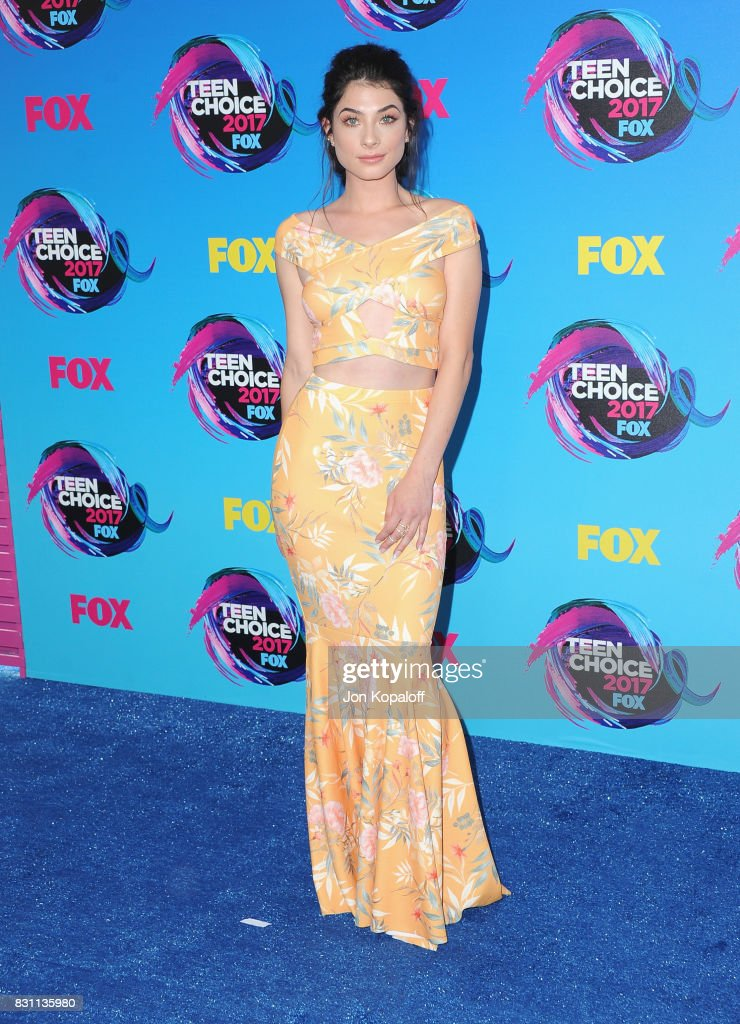 Actor Niki Koss attends the Teen Choice Awards 2017 at Galen Center on August 13, 2017 in Los Angeles, California.