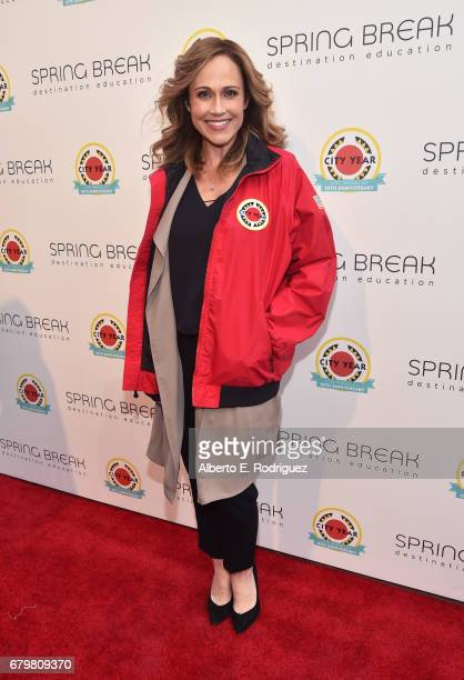 Actor Nikki DeLoach attends City Year Los Angeles Spring Break on May 6 2017 in Los Angeles California