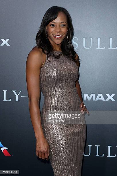 """Actor Nikki M. James attends The New York Premiere of Warner Bros. Pictures' and Village Roadshow Pictures' """"Sully"""" at Alice Tully Hall at Lincoln..."""