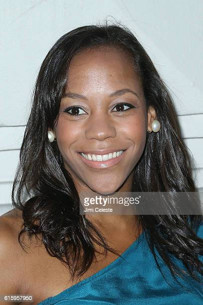 Actor Nikki M James attends the Opening of Broadway's AllStar 'The Front Page' at the Broadhurst Theatre on October 20 2016 in New York City