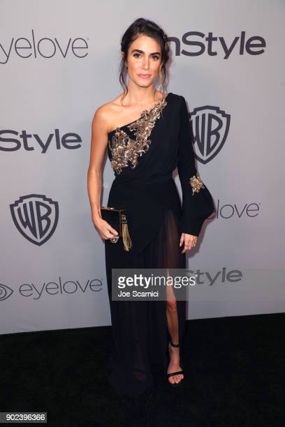 Actor Nikki Reed attends the 2018 InStyle and Warner Bros 75th Annual Golden Globe Awards PostParty at The Beverly Hilton Hotel on January 7 2018 in...
