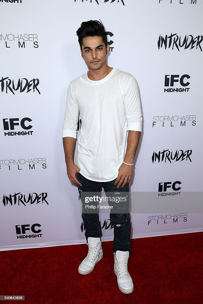 Actor Niko Pepaj attends the premiere of IFC Midnight's 'Intruder' at Regency Bruin Theater on June 15, 2016 in Westwood, California.