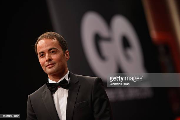 Actor Nikolai Kinski arrives at the GQ Men of the year Award 2015 at Komische Oper on November 5 2015 in Berlin Germany