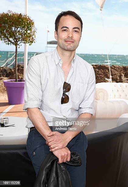 Actor Nikolai Kinski attends the Medienboard reception during the 66th Annual Cannes Film Festival at La Plage 45 on May 20 2013 in Cannes France
