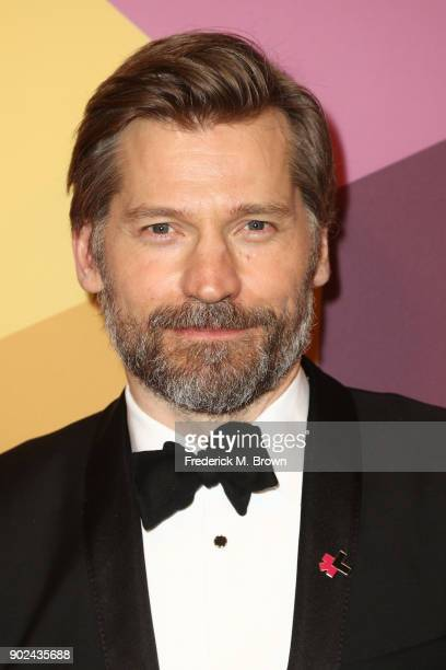 Actor Nikolaj Coster Waldau attends HBO's Official Golden Globe Awards After Party at Circa 55 Restaurant on January 7 2018 in Los Angeles California