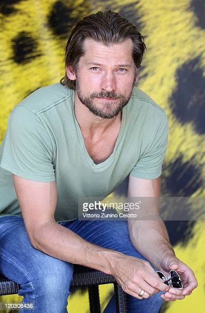 Actor Nikolaj Coster Waldau attends the Headhunters photocall during the 64th Festival del Film di Locarno on August 4, 2011 in Locarno, Switzerland.