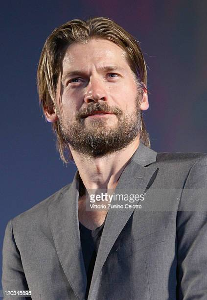Actor Nikolaj Coster Waldau attends the 'Headhunters' screening during the 64th Festival del Film di Locarno on August 4 2011 in Locarno Switzerland