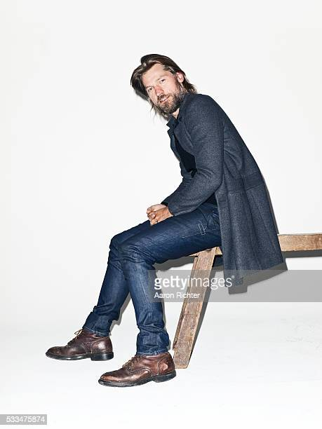 Actor Nikolaj Coster Waldau is photographed for BlackBook on October 10 2012 at Acme Studios in Brooklyn New York