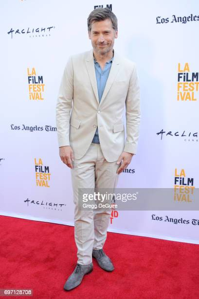 Actor Nikolaj CosterWaldau arrives at the 2017 Los Angeles Film Festival Gala Screening Of 'Shot Caller' at Arclight Cinemas Culver City on June 17...