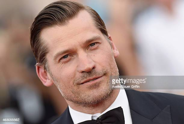 Actor Nikolaj CosterWaldau arrives at the 21st Annual Screen Actors Guild Awards at The Shrine Auditorium on January 25 2015 in Los Angeles California