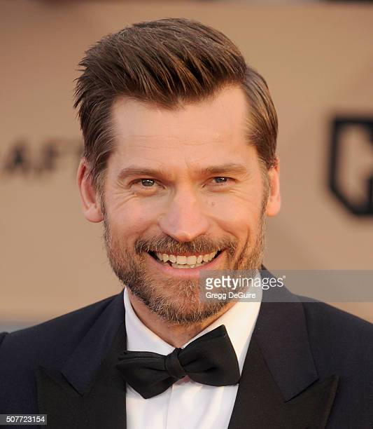 Actor Nikolaj CosterWaldau arrives at the 22nd Annual Screen Actors Guild Awards at The Shrine Auditorium on January 30 2016 in Los Angeles California