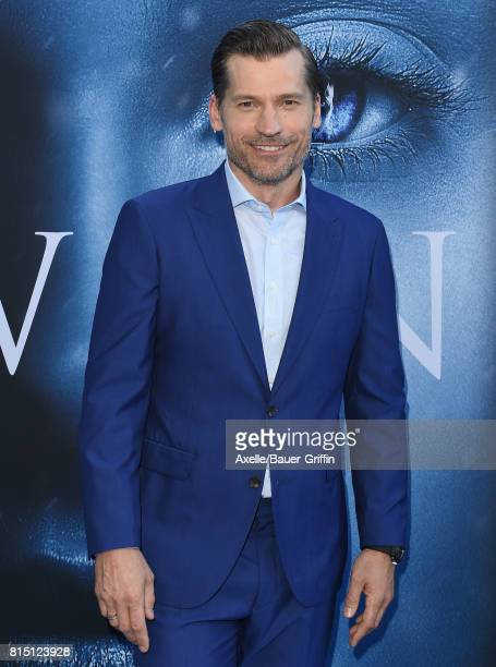 Actor Nikolaj CosterWaldau arrives at the premiere of HBO's 'Game Of Thrones' Season 7 at Walt Disney Concert Hall on July 12 2017 in Los Angeles...