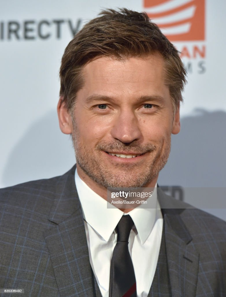 Actor Nikolaj Coster-Waldau arrives at the premiere of 'Shot Caller' at The Theatre at Ace Hotel on August 15, 2017 in Los Angeles, California.