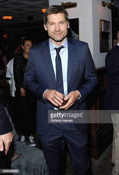 Actor Nikolaj CosterWaldau at The Weinstein Company and Elevation Pictures' The Imitation Game premiere party hosted by GREY GOOSE vodka and Soho...