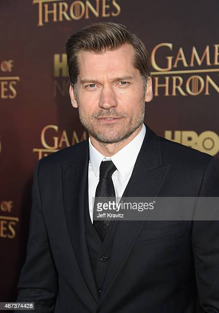 Actor Nikolaj CosterWaldau attends HBO's 'Game of Thrones' Season 5 Premiere and After Party at the San Francisco Opera House on March 23 2015 in San...