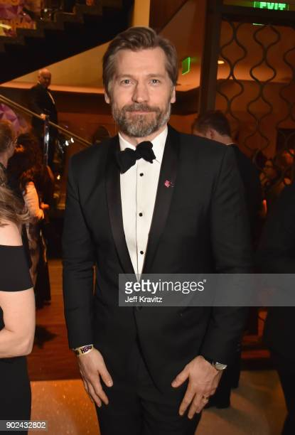 Actor Nikolaj CosterWaldau attends HBO's Official 2018 Golden Globe Awards After Party on January 7 2018 in Los Angeles California