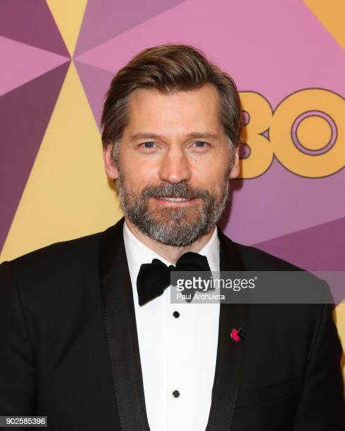 Actor Nikolaj CosterWaldau attends HBO's official Golden Globe Awards after party at The Circa 55 Restaurant on January 7 2018 in Los Angeles...