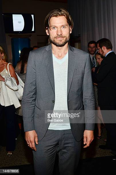 Actor Nikolaj CosterWaldau attends the 16th Annual Webby Awards on May 21 2012 in New York City