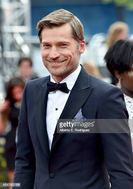 Actor Nikolaj CosterWaldau attends the 66th Annual Primetime Emmy Awards held at the Nokia Theatre LA Live on August 25 2014 in Los Angeles California
