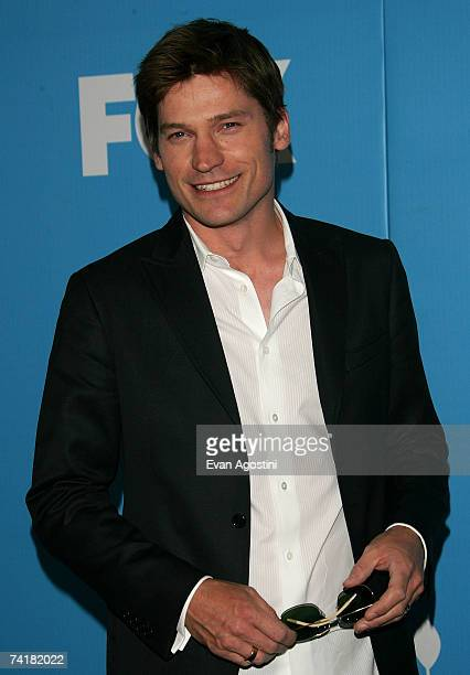 Actor Nikolaj CosterWaldau attends the FOX 2007 Programming presentation at the Wollman Rink in Central Park on May 17 2007 in New York City
