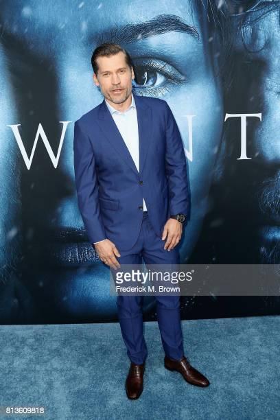 Actor Nikolaj CosterWaldau attends the premiere of HBO's 'Game Of Thrones' season 7 at Walt Disney Concert Hall on July 12 2017 in Los Angeles...