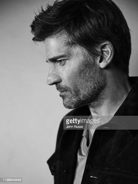 Actor Nikolaj Coster-Waldau is photographed for Nobleman magazine on January 18, 2019 in Los Angeles, California.
