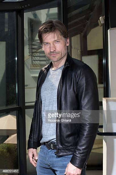 Actor Nikolaj CosterWaldau is photographed for Self Assignment on March 20 2015 in Rome Italy