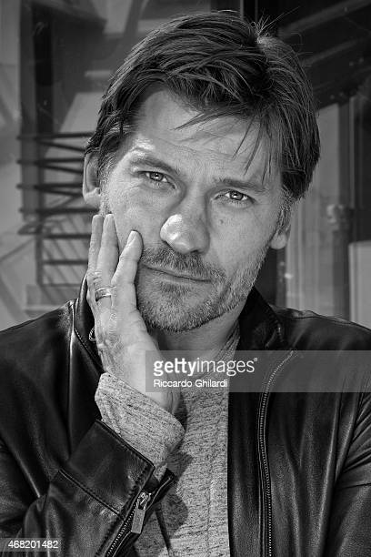 Actor Nikolaj Coster-Waldau is photographed for Self Assignment on March 20, 2015 in Rome, Italy.