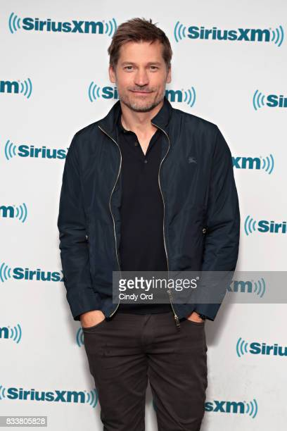 Actor Nikolaj CosterWaldau visits the SiriusXM Studios on August 17 2017 in New York City