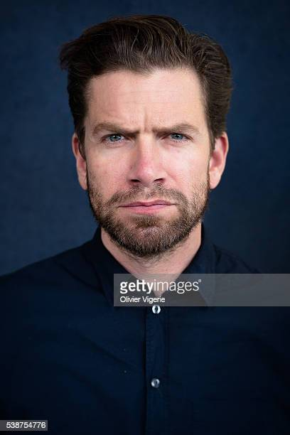 Actor Nikolaj Lie Kaas is photographed for Self Assignment on April 6 2016 in Paris France