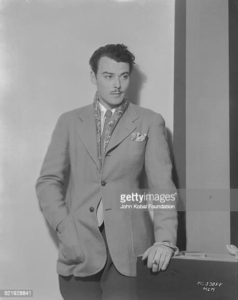 Actor Nils Asther in a promotional shot for MGM Pictures 1932