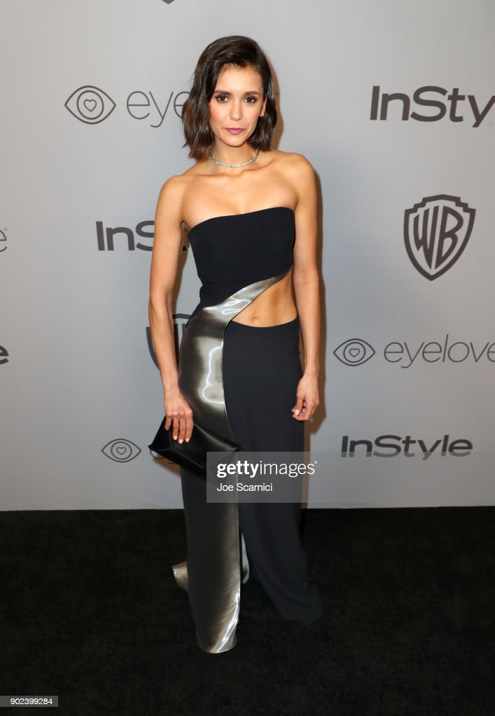 The 2018 InStyle And Warner Bros. 75th Annual Golden Globe Awards Post-Party - Red Carpet : News Photo