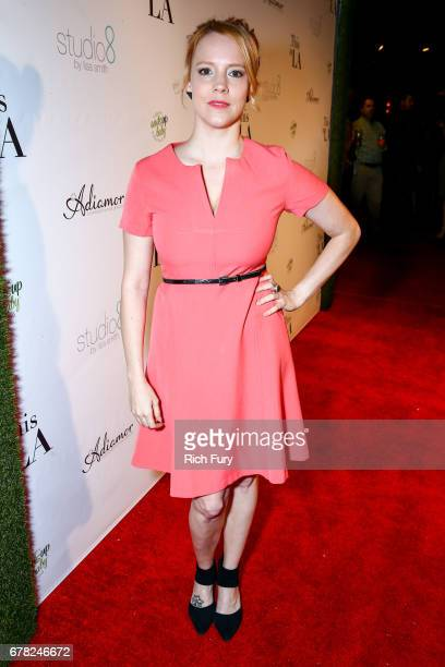 "Actor Nina Rausch attends the ""This Is LA"" Premiere Party at Yamashiro Hollywood on May 3, 2017 in Los Angeles, California."