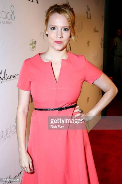 Actor Nina Rausch attends the This Is LA Premiere Party at Yamashiro Hollywood on May 3 2017 in Los Angeles California