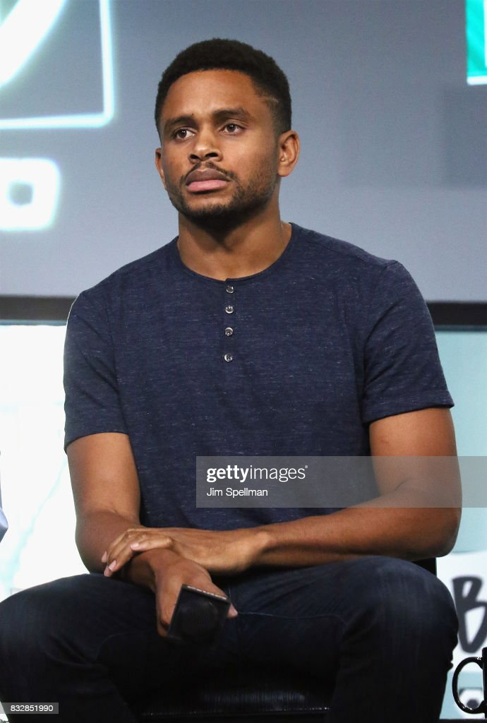 Actor Nnamdi Asomugha attends Build to discuss 'Crown Heights' at Build Studio on August 16, 2017 in New York City.