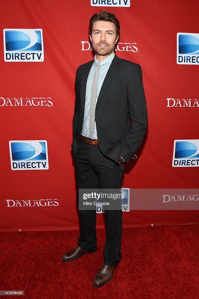 Actor Noah Bean attends The DIRECTV Premiere event for the fifth and Final Season of 'Damages' at The Oak Room on June 28, 2012 in New York City.