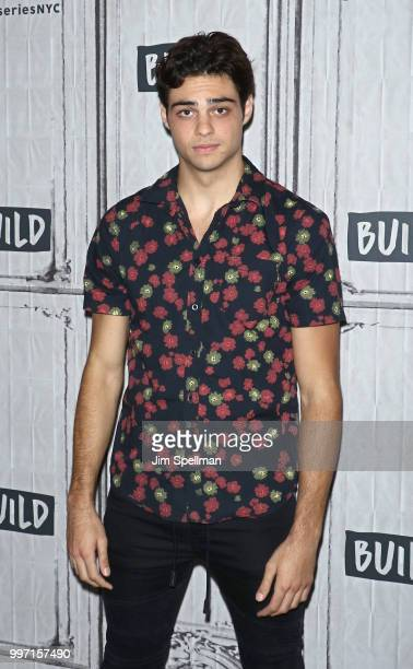 Actor Noah Centineo attends the Build Series to discuss 'Sierra Burgess is a Loser' and 'To All The Boys I've Loved Before' at Build Studio on July...