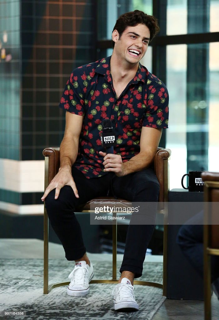 Actor Noah Centineo visits Build studio on July 12, 2018 in New York City.