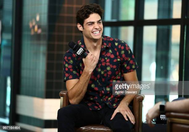 Actor Noah Centineo visits Build studio on July 12 2018 in New York City
